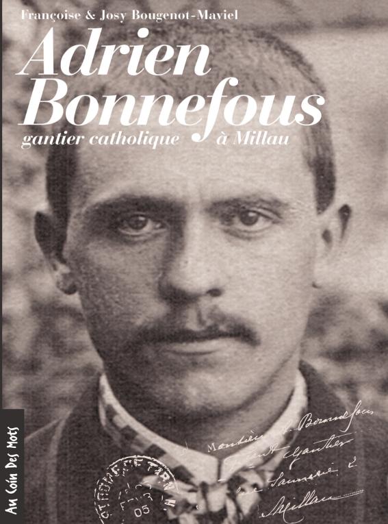 Adrien Bonnefous, fabricant de gants à Millau au tournant du 20e siècle.